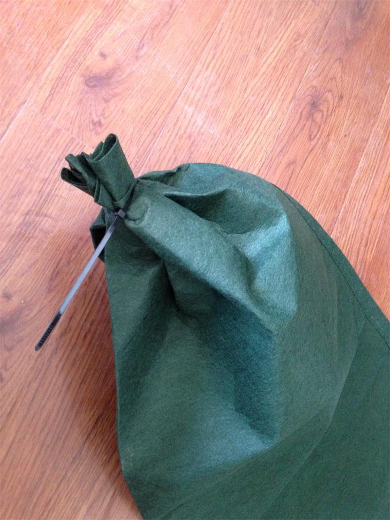 绿色生态袋扎口效果图